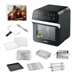 Air Fryer Oven w/ Rotisserie and Dehydrator Electric French