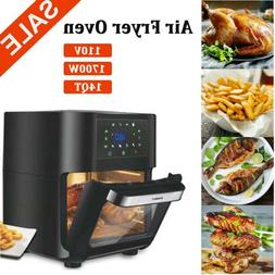14 Quart Air Fryer Oven 1700W Air Fryer Oven with Rotisserie