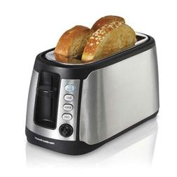 Hamilton Beach 24810C 4 Slice Long Slot Toaster with Stainle