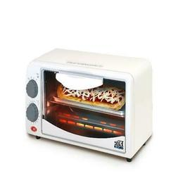 2slice toaster oven with broiler and timer