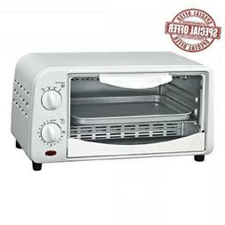 4 Slice Counter Top Toaster Oven Cooking Breakfast Lunch Eas