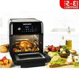 6 Qt Air Fryer Oven Compact Kitchen W/ 13 Smart Cooking Pres