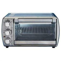 6 slice convection toaster oven stainless steel