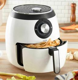 6qt Air Fryer White Oven Cooker Electric Non Stick Fry Baske