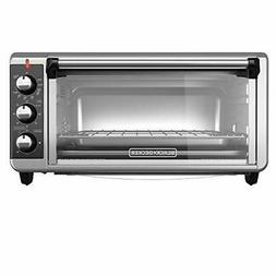 8-Slice Extra Wide Convection Countertop Toaster Oven w/ Bak