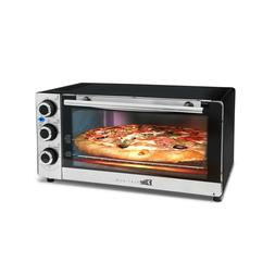 Elite - Convection Toaster/pizza Oven - Stainless Steel