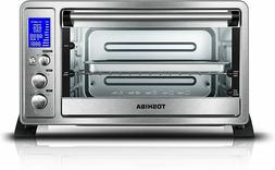 Toshiba AC25CEW-SS Digital Toaster Oven with Convection Cook