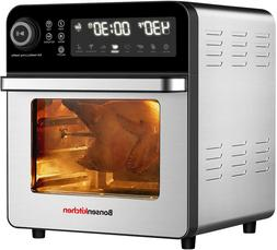 air fryer oven with rotisserie and rack