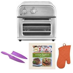 Cuisinart Air Fryer, Silver Includes Oven Mitt, Knife and Co