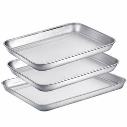 Baking Sheet Pans for Toaster Oven, Small Stainless Steel Co
