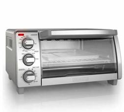 BLACK+DECKER 4-Slice Toaster Oven with Natural Convection, S