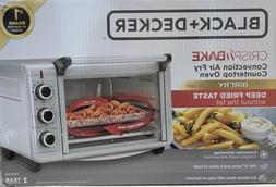 BLACK+DECKER Crisp 'N Bake Air Fry Toaster Oven TO3215SS