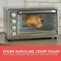 BLACK+DECKER Rotisserie Convection Countertop Toaster Oven S