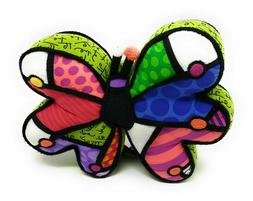 Britto Pop Plush Colorful Butterfly