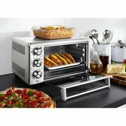 TOASTER OVEN STAINLESS Convection Countertop Oster Large Ste