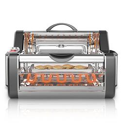 NutriChef Countertop Rotisserie Oven - Roaster Oven  Shawarm