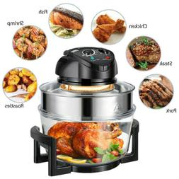 Extra Large 17Qt Family Air Fryer 1400W Healthy Cook Roast T