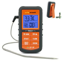 ThermoPro Digital LCD Meat Thermometer Cooking Smoker Grill