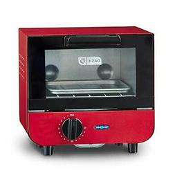 Dash DMTO100GBRD04 Mini Toaster Oven Cooker for for Bread, B