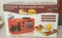 MaxiMatic EBK-200 3-in-1 Multifunction Breakfast Deluxe Toas