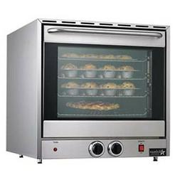 Electric Convection Oven - Countertop Holds 4 Full-Size Shee