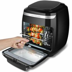 GoWISE  11.6-Quart Air Fryer Oven with Rotisserie & Dehydrat