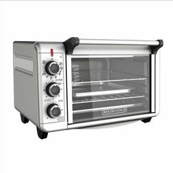 Kitchen Convection Oven Countertop Pizza Toaster Stainless S