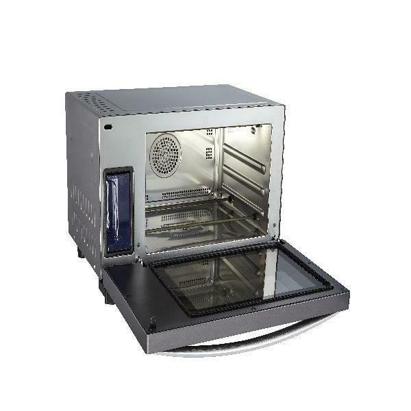 Emerson 0.9 ft. Steam Grill Convection Technology,