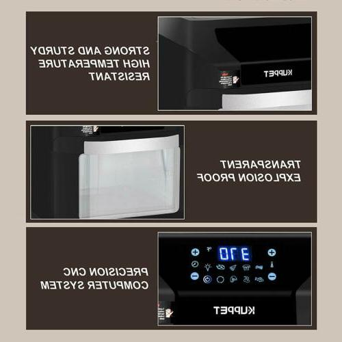10.6QT 7-in-1 Oven Set Heating
