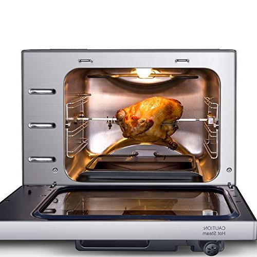 GoWISE 27-Quart Programmable Pressure Oven + Your