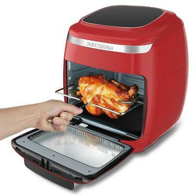 GoWISE Air Oven 1700-Watt Red/Silver