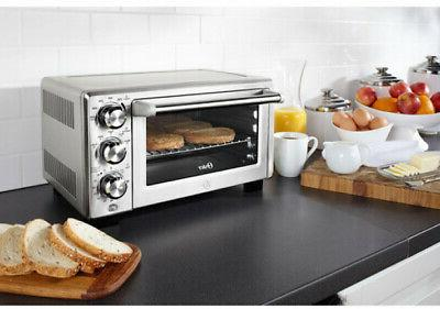 Stainless Convection Extra Large Counter W/ 3-Adjustable Rack