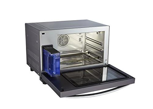 Emerson Deluxe Cu. Ft. Oven Grill Feature, Stainless Steel