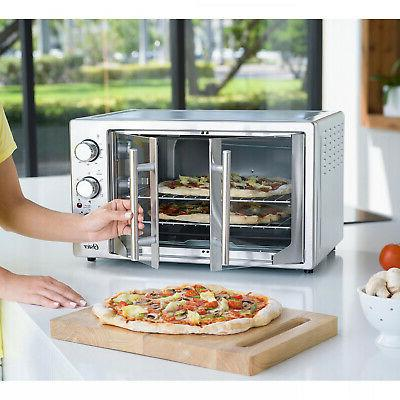 energy efficient convection french door oven stainless