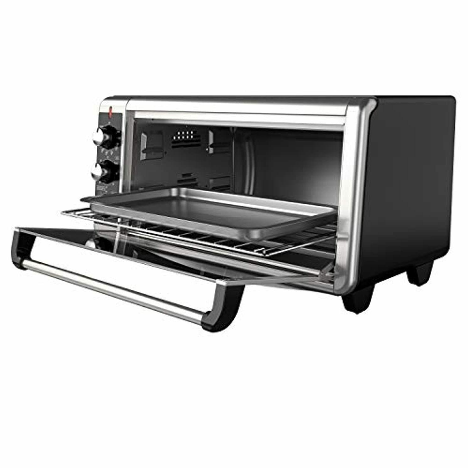 Extra Wide Convection Toaster Pan Steel