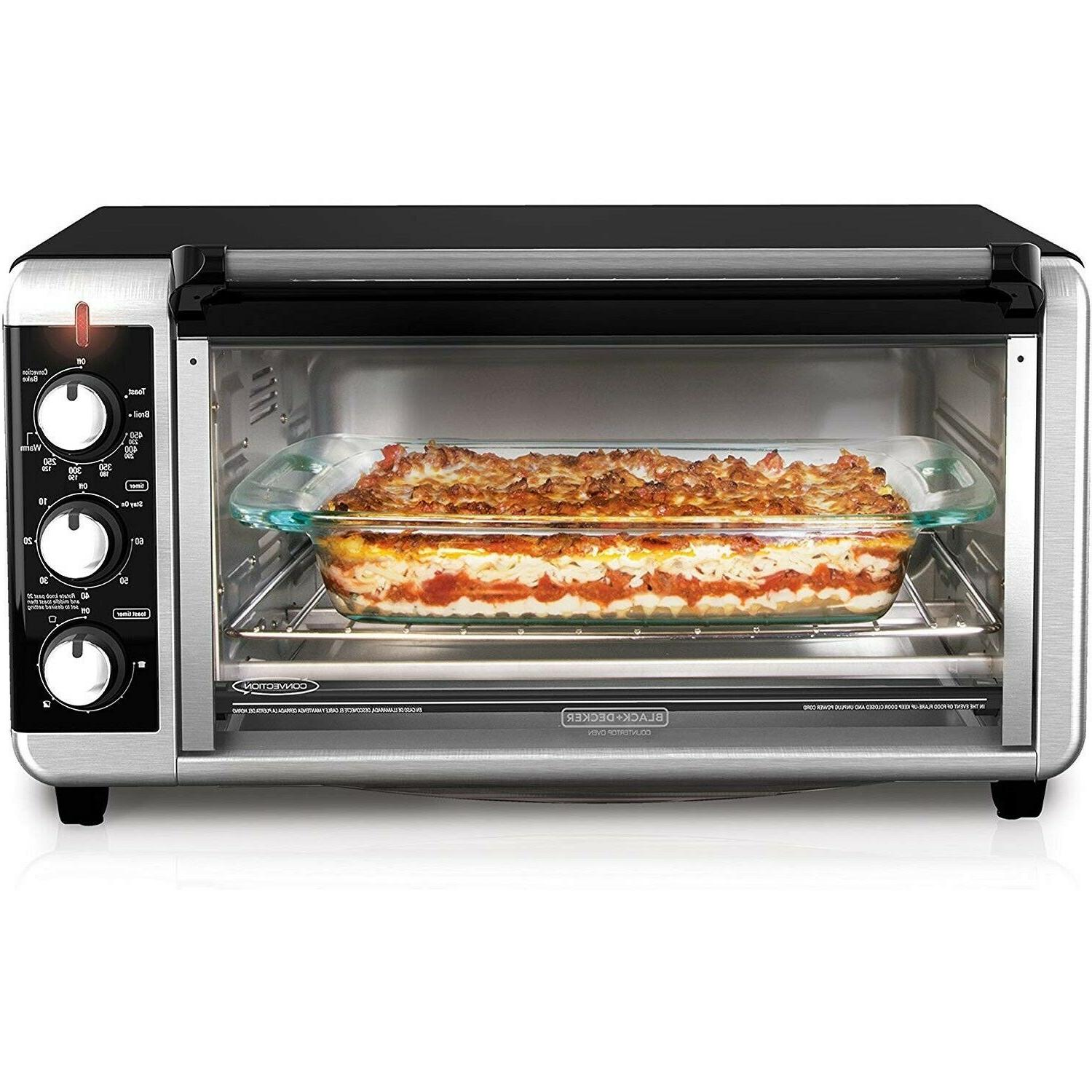 Extra Convection Toaster 8-Slice Bake Pan Steel