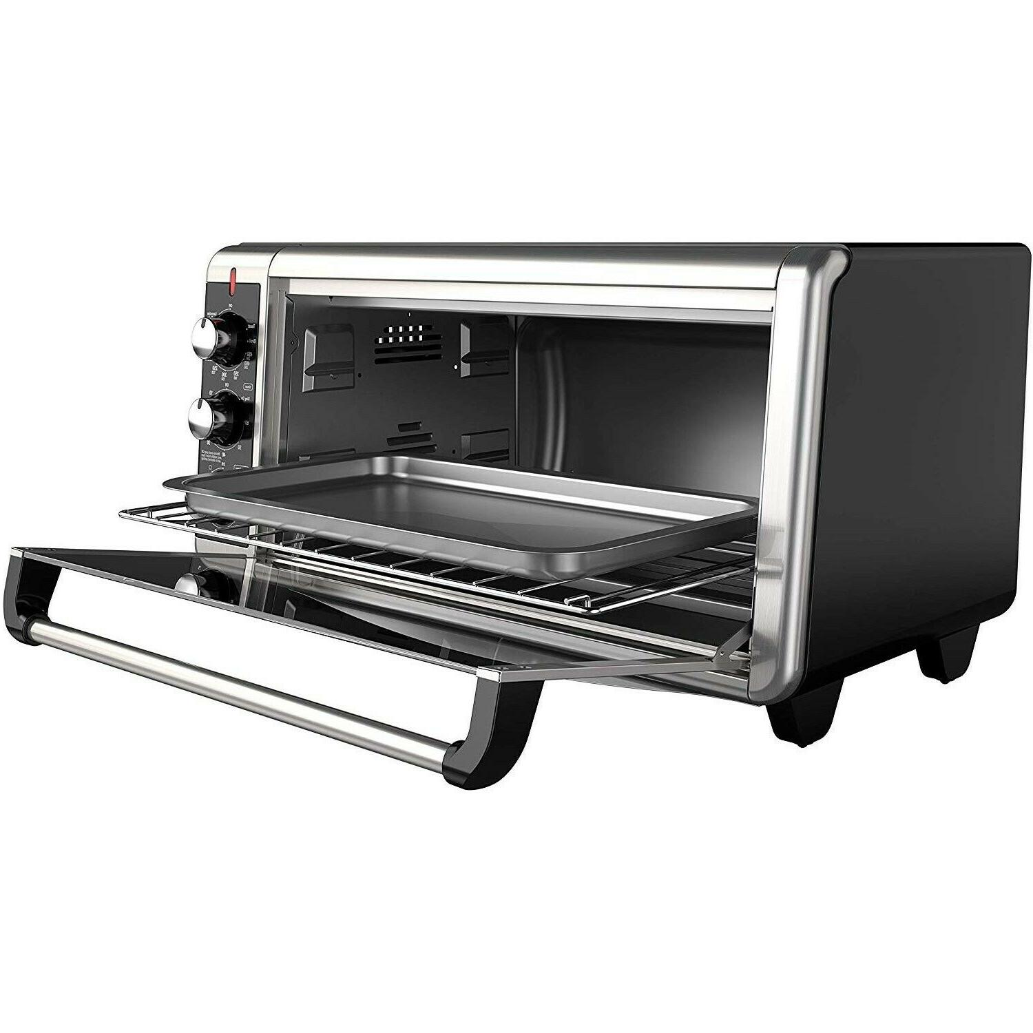 Extra Wide Countertop Toaster 8-Slice Pan