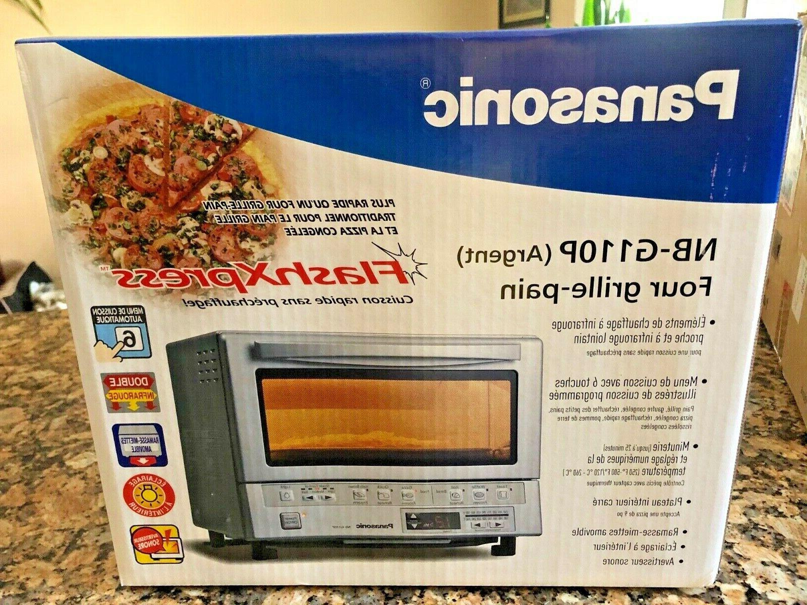 flashxpress compact toaster oven with double infrared