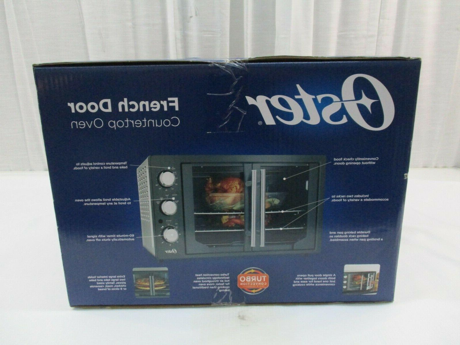 Oster French Convection Toaster Metallic & Charcoal