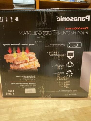Panasonic NB-G110P Flash Compact Toaster Double Heating