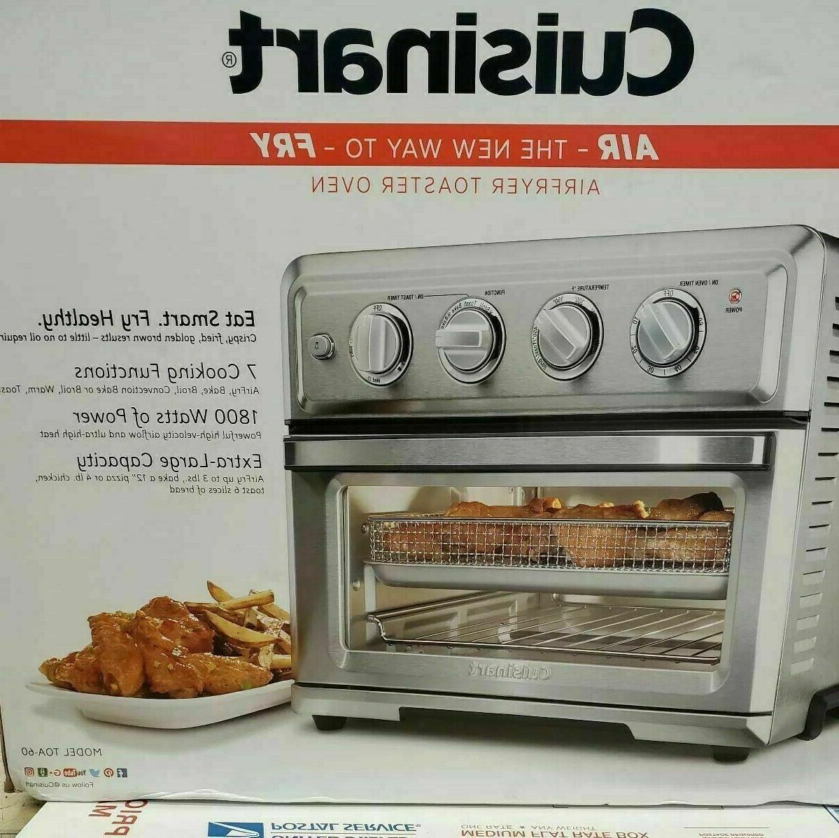 new air fryer toaster oven toa 60