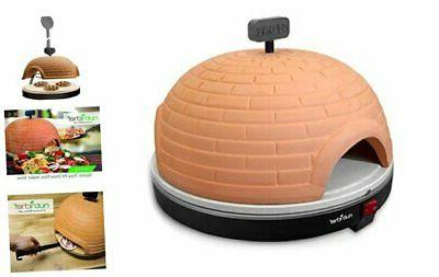 nutrichef upgraded electric pizza oven artisan version