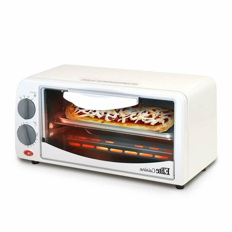 Oven Toaster 2 Slice Countertop Include Pan And Wire Rack Ba