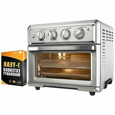 Cuisinart TOA-60 Convection Toaster Oven Air Fryer w/ 1 Year