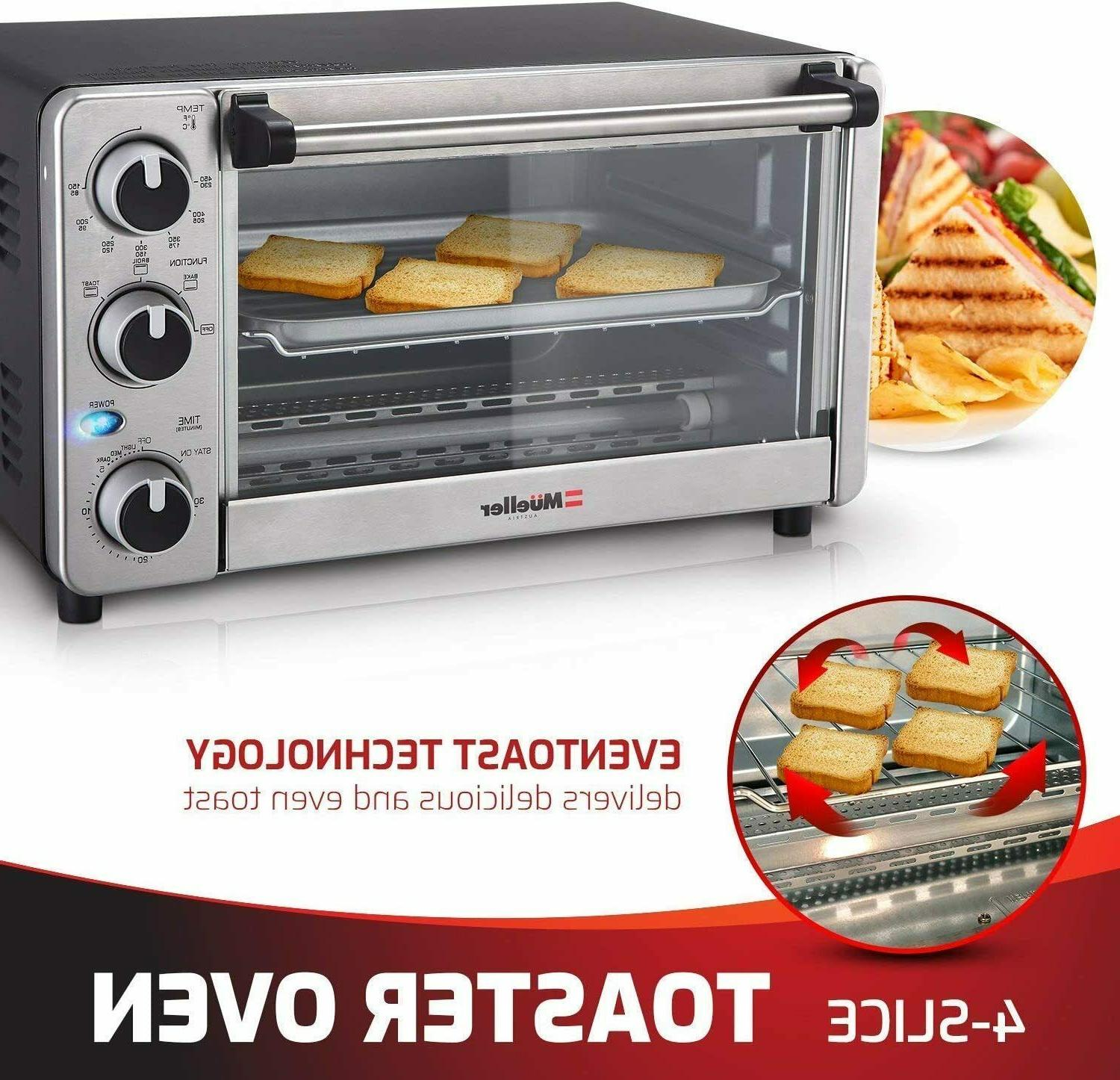 Toaster Oven 4 Multi-function with