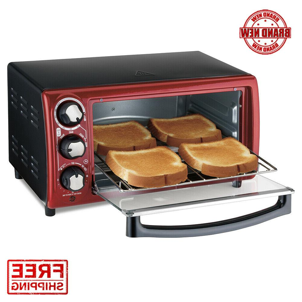 Hamilton Beach Toaster Oven Model# 31146 Red