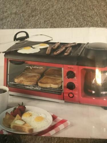 Toaster Oven Style Multi-function Coffee Griddle