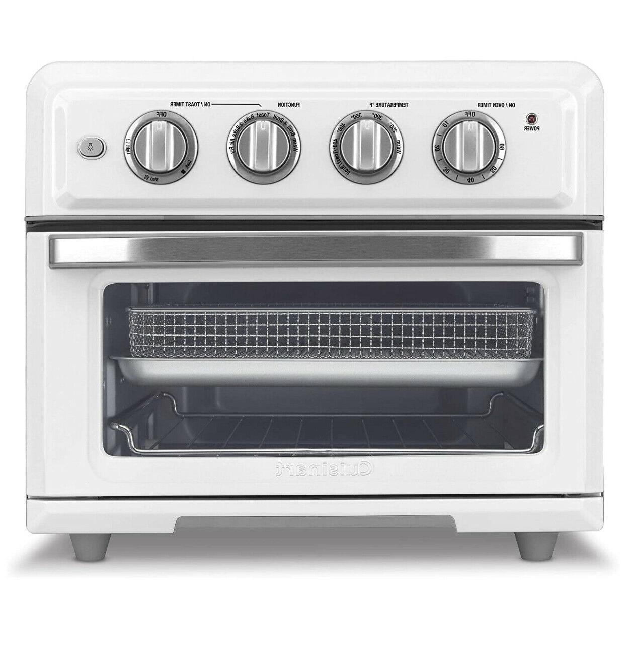 white airfryer convection toaster oven a