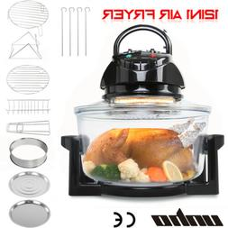 Large 17L Convection Oven Halogen Roaster Air Fryer Electric