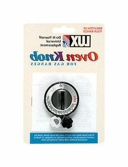 LUX Gas Oven Replacement Knob Universal - Fits Most Gas Oven